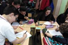 1ºESO - Matemática - Polinomios con palillos de colores